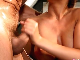 Horny Sex Industry Stars Linette, George In Fabulous Red-haired, Big Tits Adult Movie