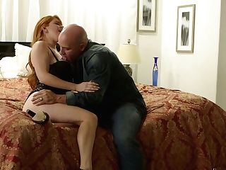 Lovemaking-thirsty Crimson Head Penny Pax Gets Her Cooch Munched And Fucked