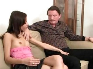 Wild Chick Is Involved Into Family 3some