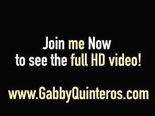 Mexican Mummy Gabby Quinteros Gets Fuckbox W/ Lez Janet Mason!