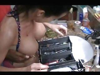 Junior Big Black Cock Fit Cougar