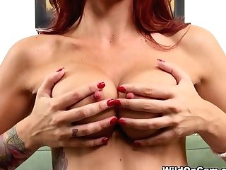 Fabulous Pornographic Star Monique Alexander In Incredible Ginger-haired, Big Tits Xxx Scene
