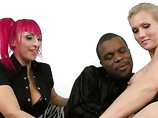 Caucasian Whore Kodi Kina Is Impatient To Work On Strong Fat Big Black Cock (ffm)