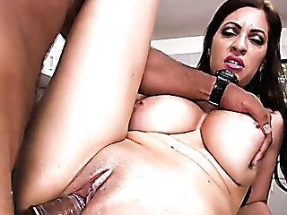 Oversexed Honey With Ideal Bod Jazmyn Is Fucked On The Table