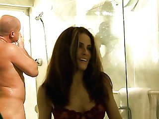 Fantastic Cutie Ginger Lea Gives Such A Sultry Bj In The Bathroom