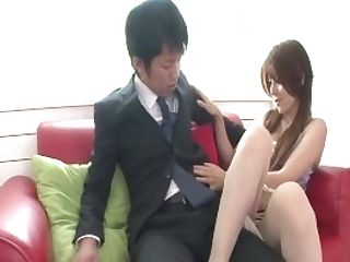 Rosa Kawashima Completes With Sperm In Mouth After Good Bj