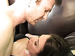 Whore Wifey Maggie Matthews Gives Oral Job To Big Black Cock In The Presence Of Hotwife Hubby