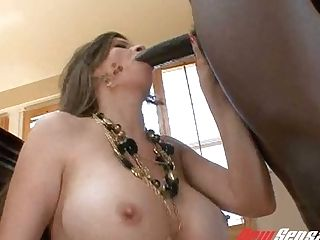 Black Pervert Rear End Fucks Mega Huge-titted Milky Beauty June Summer