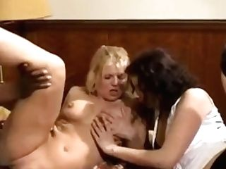 Interracial Dutch Threesome Anal Invasion For Two Dutch Cougars
