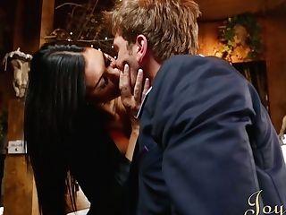 Greedy For Orgasm Dark-haired Jasmine Jae Blows Delicious Dick Of Ryan Ryder