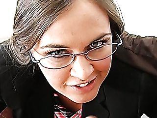 Insatiable Professor Simone Riley Bj's Kris Slater's Boner Like Crazy