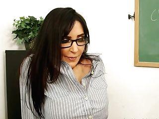 Bad Schoolteacher Diana Prince Gives Her Student A Deep Throat