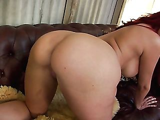 Dissolute Ginger-haired Cougar Kelly Divine Gets Amazing Rimjob