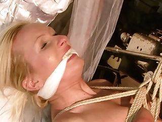 Exceptionally Perverted Blondie Angela Needs A Decent Torment