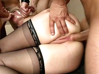 It Takes Five Thick Fire Hoses To Sodden Simone Sonays Hot Cougar Cunt - Hardcoregangbang